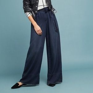 Cloth & Stone Wide-Leg Trousers T856